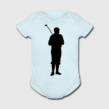 Golf player - Short Sleeve Baby Bodysuit