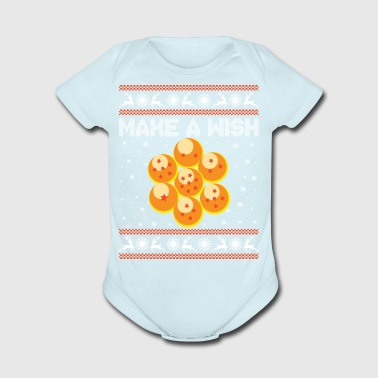 7 dragonballs collected, now let's make a wish! - Short Sleeve Baby Bodysuit