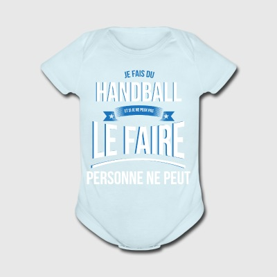 Handball nobody can gift - Short Sleeve Baby Bodysuit