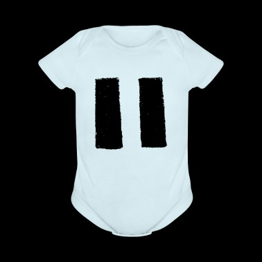 Pause for Percussion - Organic Short Sleeve Baby Bodysuit