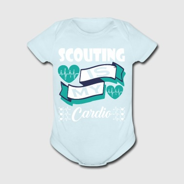 Scouting Is My Cardio - Short Sleeve Baby Bodysuit