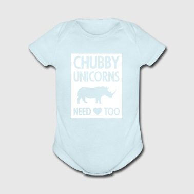 Chubby gift for Little Girls And Adults - Short Sleeve Baby Bodysuit