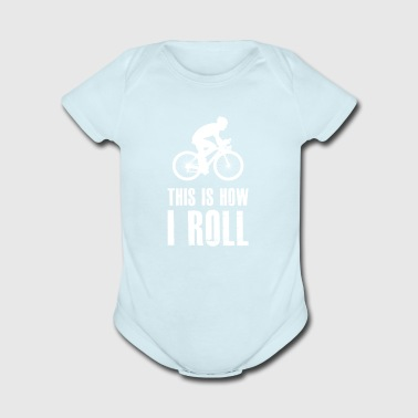 Rolling gift for Mountain Bikers - Short Sleeve Baby Bodysuit