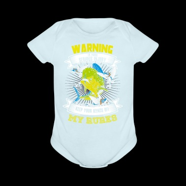 Warning Serious Injury Keep your hands of my Rules funny shirts gifts - Short Sleeve Baby Bodysuit