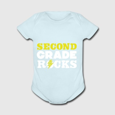 Second Grade Rocks T-Shirt - Short Sleeve Baby Bodysuit