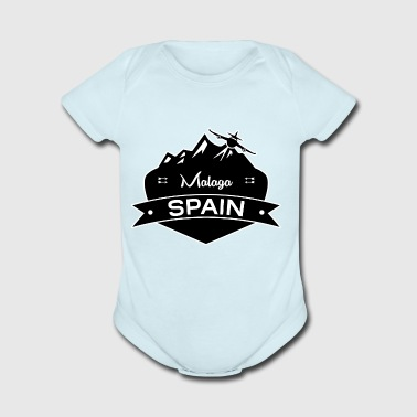Malaga Spain - Short Sleeve Baby Bodysuit