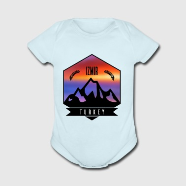 Izmir Turkey - Short Sleeve Baby Bodysuit