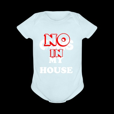 NO GUNS IN MY HOUSE March for our lives! - Short Sleeve Baby Bodysuit