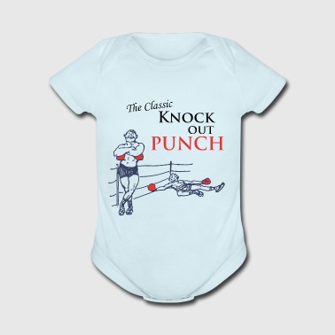 The Classic Knock Out Punch - Short Sleeve Baby Bodysuit