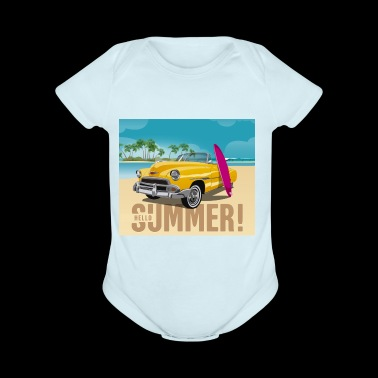 Surfing Tee Shirt Gift for men and women - Short Sleeve Baby Bodysuit