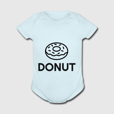 donut - Short Sleeve Baby Bodysuit
