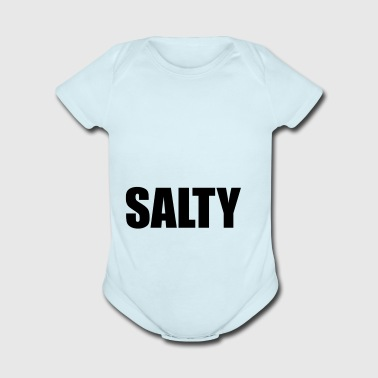 SALTY - Short Sleeve Baby Bodysuit