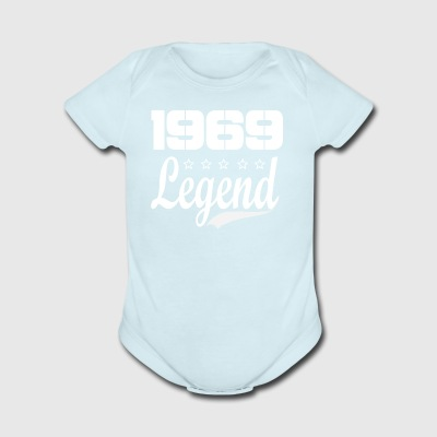 69 Legend - Short Sleeve Baby Bodysuit