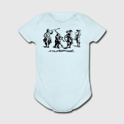 Jazz Group - Short Sleeve Baby Bodysuit