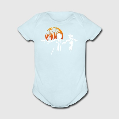 Break Fiction - Short Sleeve Baby Bodysuit