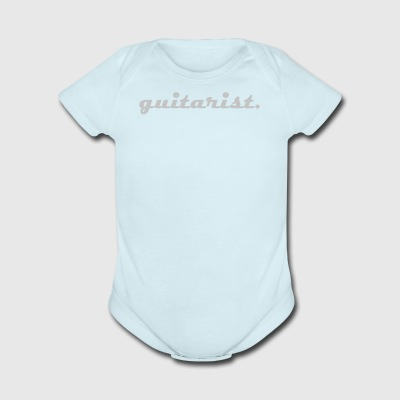 Guitarist - Short Sleeve Baby Bodysuit