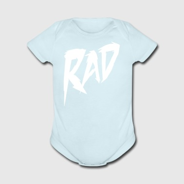 Rad Muscle - Short Sleeve Baby Bodysuit