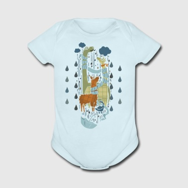 Right as Rain - Short Sleeve Baby Bodysuit