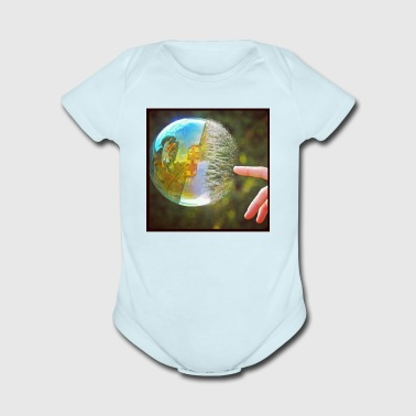 Bubble popping - Short Sleeve Baby Bodysuit