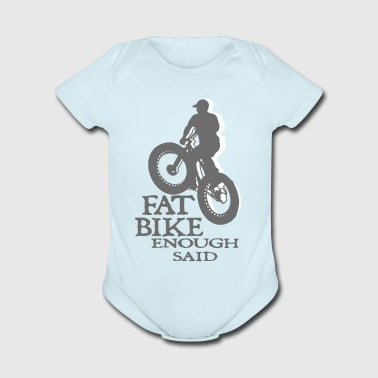 FAT BIKE TSHIRT - Short Sleeve Baby Bodysuit