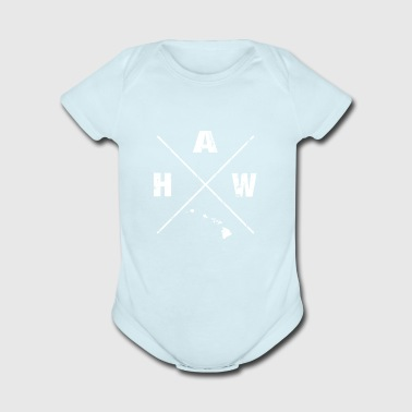 Hawaii is Home shirt - Hawaii Homeland tshirts - Short Sleeve Baby Bodysuit