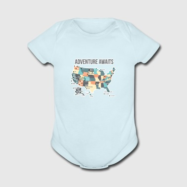 National Park Shirts Gifts - Short Sleeve Baby Bodysuit