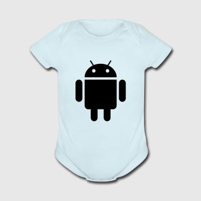android - Short Sleeve Baby Bodysuit