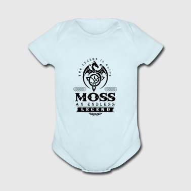 MOSS - Short Sleeve Baby Bodysuit
