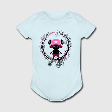 animal forest piece anime manga comic pirate - Short Sleeve Baby Bodysuit