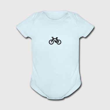 np bicycle 888651 000000 - Short Sleeve Baby Bodysuit