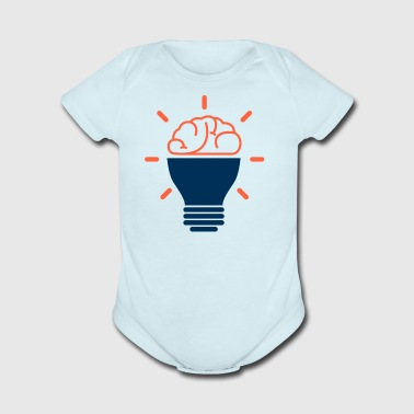 creative icon - Short Sleeve Baby Bodysuit