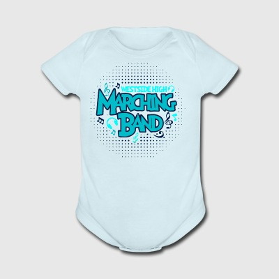 WESTSIDE HIGH MARCHING BAND - Short Sleeve Baby Bodysuit