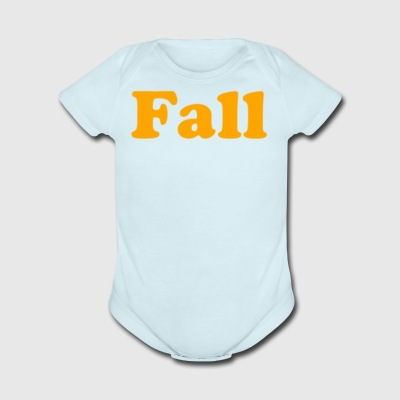 Fall - Short Sleeve Baby Bodysuit