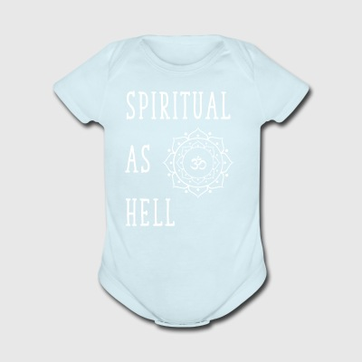 Spiritual as hell - Short Sleeve Baby Bodysuit