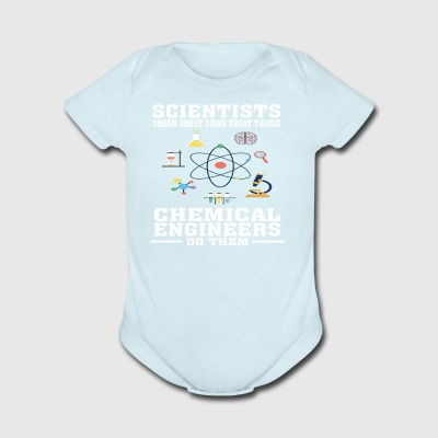 Funny T-shirt for Chemical Engineers/Engineering - Short Sleeve Baby Bodysuit
