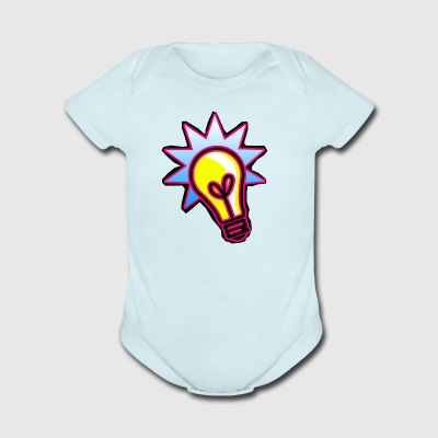 bulb - Short Sleeve Baby Bodysuit