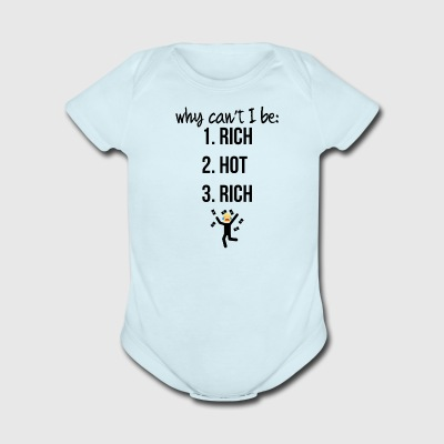 Why can't I be - Short Sleeve Baby Bodysuit