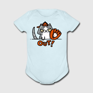 Out - Short Sleeve Baby Bodysuit
