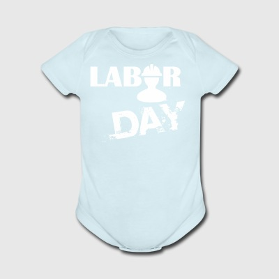 Labor Day Celebration - Short Sleeve Baby Bodysuit