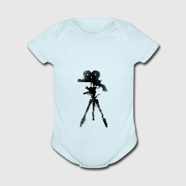 shoot, film, cinema, photographer, director - Short Sleeve Baby Bodysuit