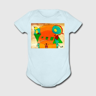 Relationship - Short Sleeve Baby Bodysuit