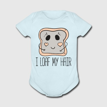 I Loaf My Hair by Curl Centric - Short Sleeve Baby Bodysuit