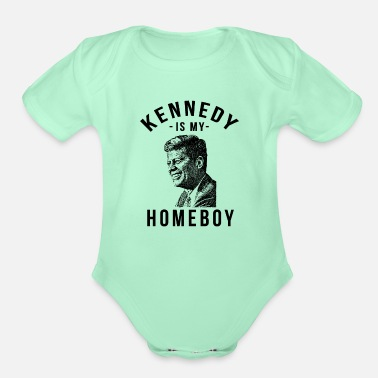 Kennedy John F Kennedy - Kennedy Election - Organic Short-Sleeved Baby Bodysuit