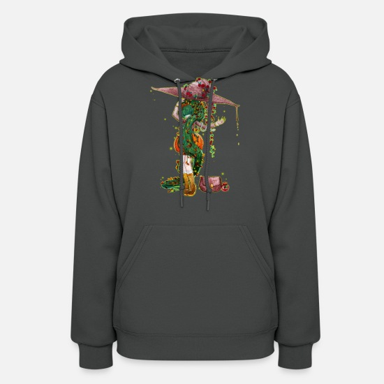 Magic Hoodies & Sweatshirts - Poisonous - Venomous witch - Women's Hoodie asphalt