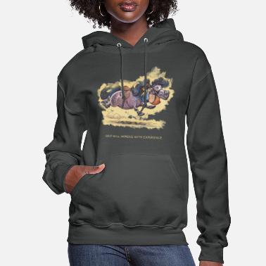 Thelwell Thelwell Grip will improve - Women's Hoodie