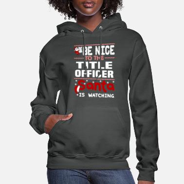 Officer Title Officer - Women's Hoodie