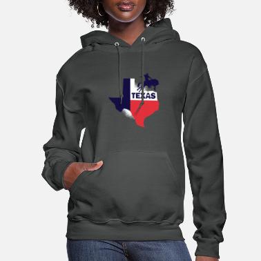 Texas Flag Mens Hooded Sweatshirt Theme Printed Fashion Hoodie