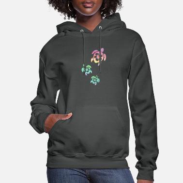 Womens Long Hoodie Love Hawaii Womens Pullover Sweatshirt Tops