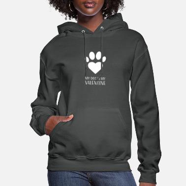 Dog Lover Dog Paw Heart gift for Dog Lovers - Women's Hoodie