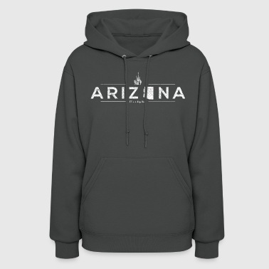 Arizona United Shapes of America - Arizona - Women's Hoodie